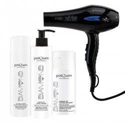 PACK SECADOR BLUE IONS THERAPY + TRATAMIENTO DIAMOND