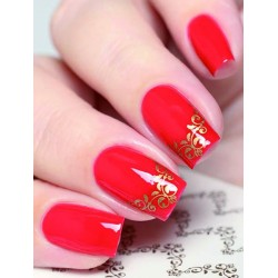 NAIL ART STICKERS. BROWN...